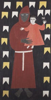 Alfredo Volpi, Senza titolo, anni '60. Collezione privata, São Paulo