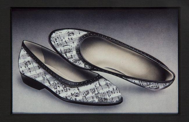 Fernando Andolcetti,Schu-bert, 1989 Variazione sul tema, 1989 Fotocollage Centro per l'Arte Contemporanea Luigi Pecci, Prato Donazioni dell'artista