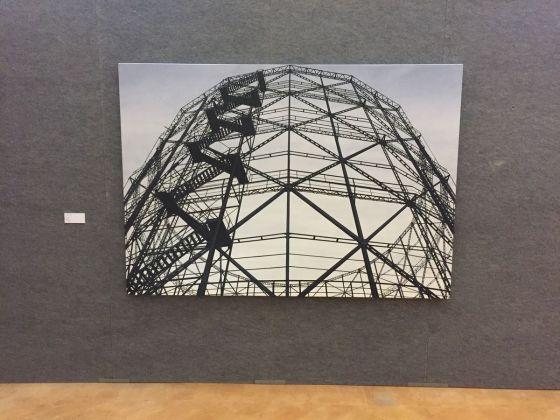 Andrea Chiesi, Alessandro Cannistà, exhibition view at De prospectiva pingendi, Todi 2018