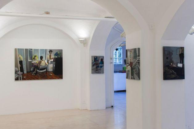 Andrea Fiorino e Dario Maglionico. Everyday is like Sunday. Exhibition view at Antonio Colombo Arte Contemporanea, Milano 2018