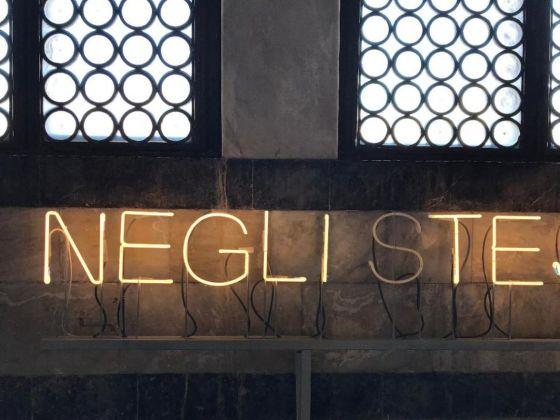Andrea Santarlasci. Confluenze. Installation view at Santa Maria della Spina, Pisa 2018. Photo Nicola Gronchi