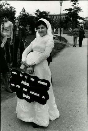 """Anna Candiani, da """"Immagini del NO"""", 1974"""