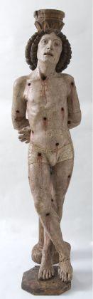 Anonimo del XV secolo, San Sebastiano, XV sec.