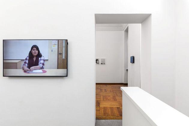 Anush Hamzehian & Vittorio Mortarotti. Most were silent. Exhibition view at Galleria Alberto Peola, Torino 2018. Photo Beppe Giardino