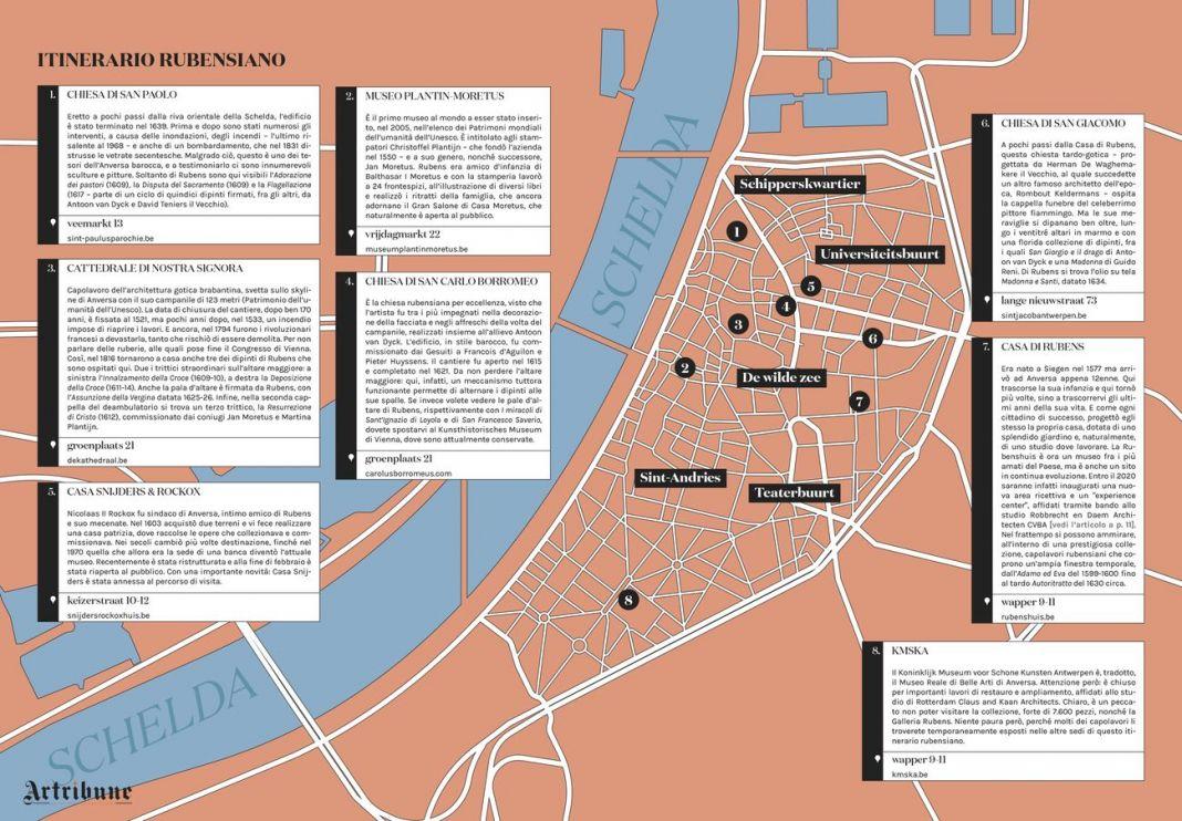 Anversa. Un itinerario rubensiano (c) Artribune Magazine