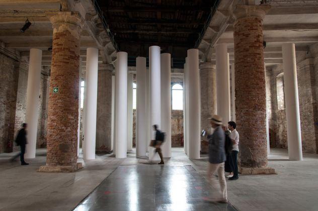 Biennale di Architettura di Venezia 2018. Arsenale. Valerio Olgiati. Photo Irene Fanizza