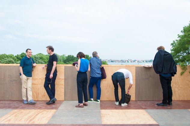 Biennale di Architettura di Venezia 2018. Giardini. Padiglione Gran Bretagna. Photo Irene Fanizza