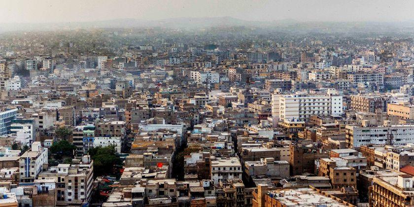 Biennale di Architettura di Venezia 2018. Padiglione Pakistan. Città di Karachi © Sakina Hassan
