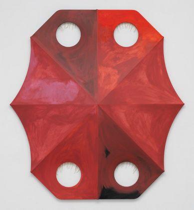 Blair Thurman, Profondo Rosso, 2018. Courtesy l'artista e Gagosian