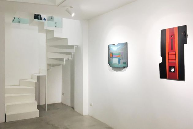 Carmelo Arden Quin. Exhibition view at MAAB Gallery, Milano 2018