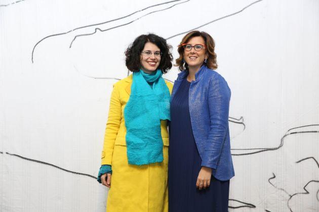 Chiara Canali (a sinistra) e Camilla Mineo (a destra)