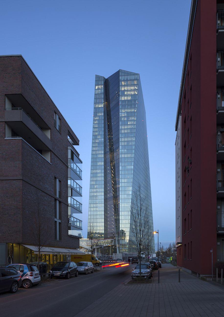 Coop Himmelb(l)au, European Central Bank, Francoforte © Photo Paul Raftery