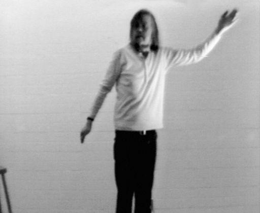 John Baldessari, I Am Making Art, 1971, video still. Courtesy of John Baldessari