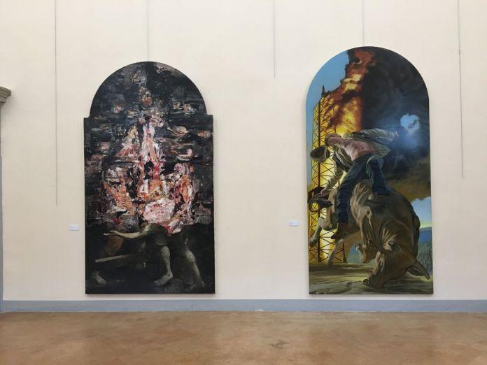 De prospectiva pingendi, exhibition view, Todi 2018, photo Valentina Grandini