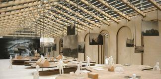 Dettaglio modello, Sala dell'Arcipelago – Staff Mario Cucinella