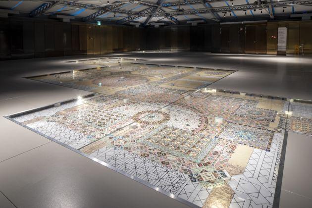 Elisabetta Di Maggio, Greetings from Venice, installation view at T Fondaco dei Tedeschi, Venezia 2018, photo Francesco Allegretto