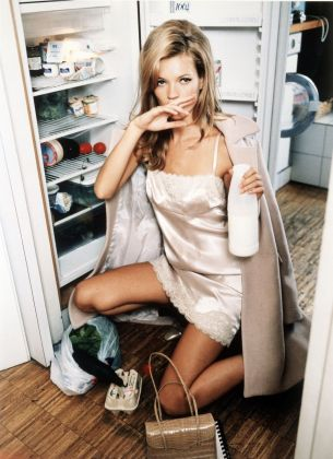 Ellen von Unwerth, Milk, Kate Moss, Vogue US, 1995