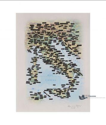 Emilio Isgrò, Vedo il Mar Tirreno, 2003