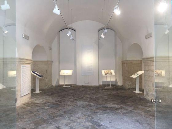 Emilio Isgrò. Piccola ma preziosa mostra in Accademia. Exhibition view at Accademia di Belle Arti, Lecce 2018