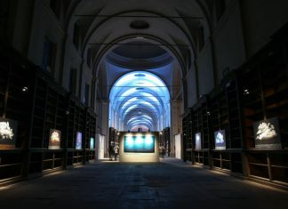 Ernesto Morales. La forma e le nuvole. Exhibition view at Ospedale Vecchio, Parma 2018