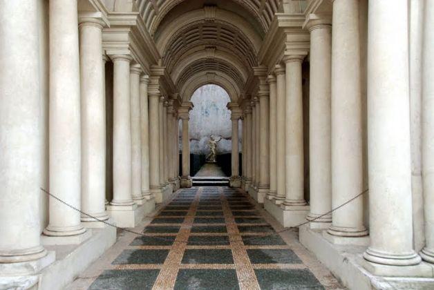 Francesco Borromini, Prospettiva, Palazzo Spada, Roma