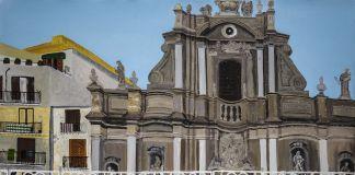 Francesco Cuttitta, L'uscita della Madonna della Mercede a Piazza Sant'Anna, 2018. Courtesy Nuvole Galleria, Palermo