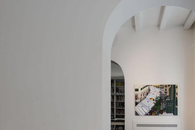 Francesco Cuttitta. Per dare una misura a tutte le cose. Exhibition view at Nuvole Galleria, Palermo 2018