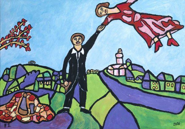 Francesco Salvadori, da La Passeggiata di Marc Chagall, 2016