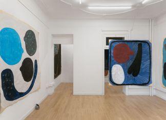 Gianluca Concialdi. Curva di Gallo. Installation view at Clima Gallery, Milano 2018. Photo Marco Davolio