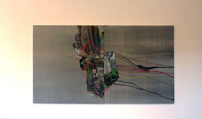 Gioacchino Pontrelli, exhibition view at De prospectiva pingendi, Todi 2018, photo Mattia Galantini