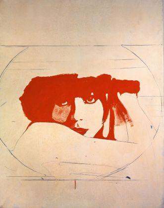 Giosetta Fioroni, Liberty, 1964. Collezione Nanni Benazzo, Roma. Photo © Giuseppe Schiavinotto