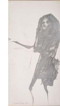 Giosetta Fioroni, Quarta immagine del silenzio, Progetto per la 32. Biennale di Venezia, 1964. Collezione privata, Milano