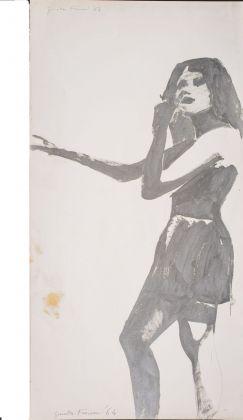 Giosetta Fioroni, Seconda immagine del silenzio, Progetto per la 32. Biennale di Venezia, 1964. Collezione privata, Milano