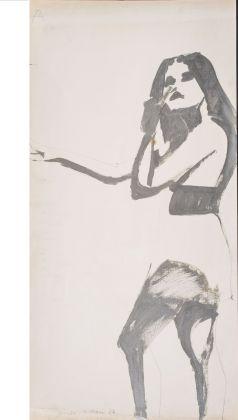 Giosetta Fioroni, Terza immagine del silenzio, Progetto per la 32. Biennale di Venezia, 1964. Collezione privata, Milano