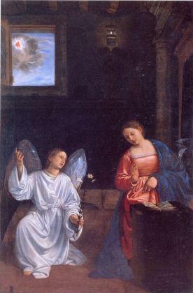 Giovan Girolamo Savoldo, Annunciazione, 1530 ca. Venezia, Gallerie dell'Accademia