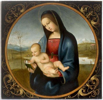 Giovanni Battista Salvi detto il Sassoferrato, Madonna con il Bambino, copia da Raffaello, XVI secolo