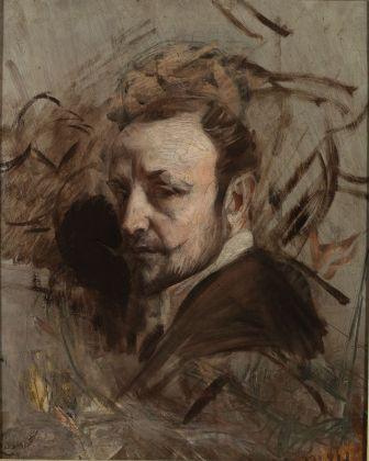 Giovanni Boldini, Autoritratto, 1892 ca. Ferrara, Museo Giovanni Boldini © Gallerie d'Arte Moderna e Contemporanea, foto Tiziano Menabò