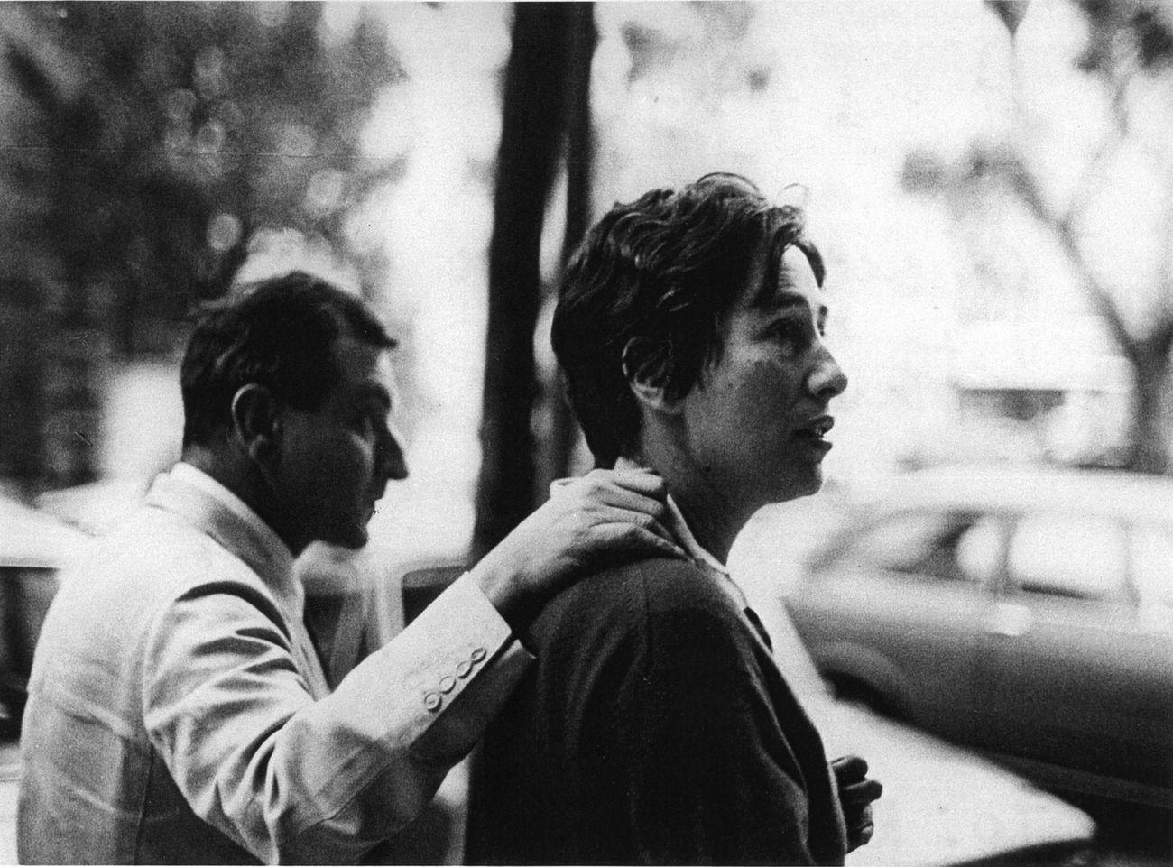 Goffredo Parise e Giosetta Fioroni, 1970 © Archivio Parise - Fioroni