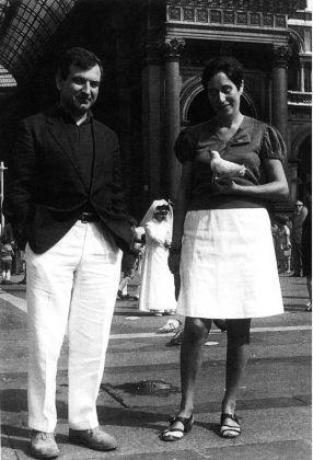 Goffredo Parise e Giosetta Fioroni a Milano, 1970 © Archivio Parise - Fioroni