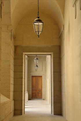 Grand Hôtel Dieu, crédit Vincent Ramet, Coursive allant Cour Sainte Elisabeth