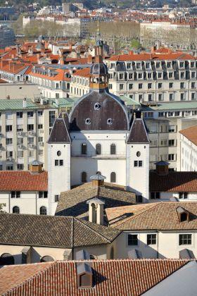 Grand Hôtel Dieu, crédit Vincent Ramet Dôme 4 Rangs