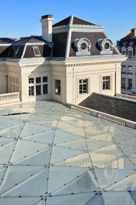 Grand Hôtel Dieu, crédit Vincent Ramet, Vue verrière Cour du Midi