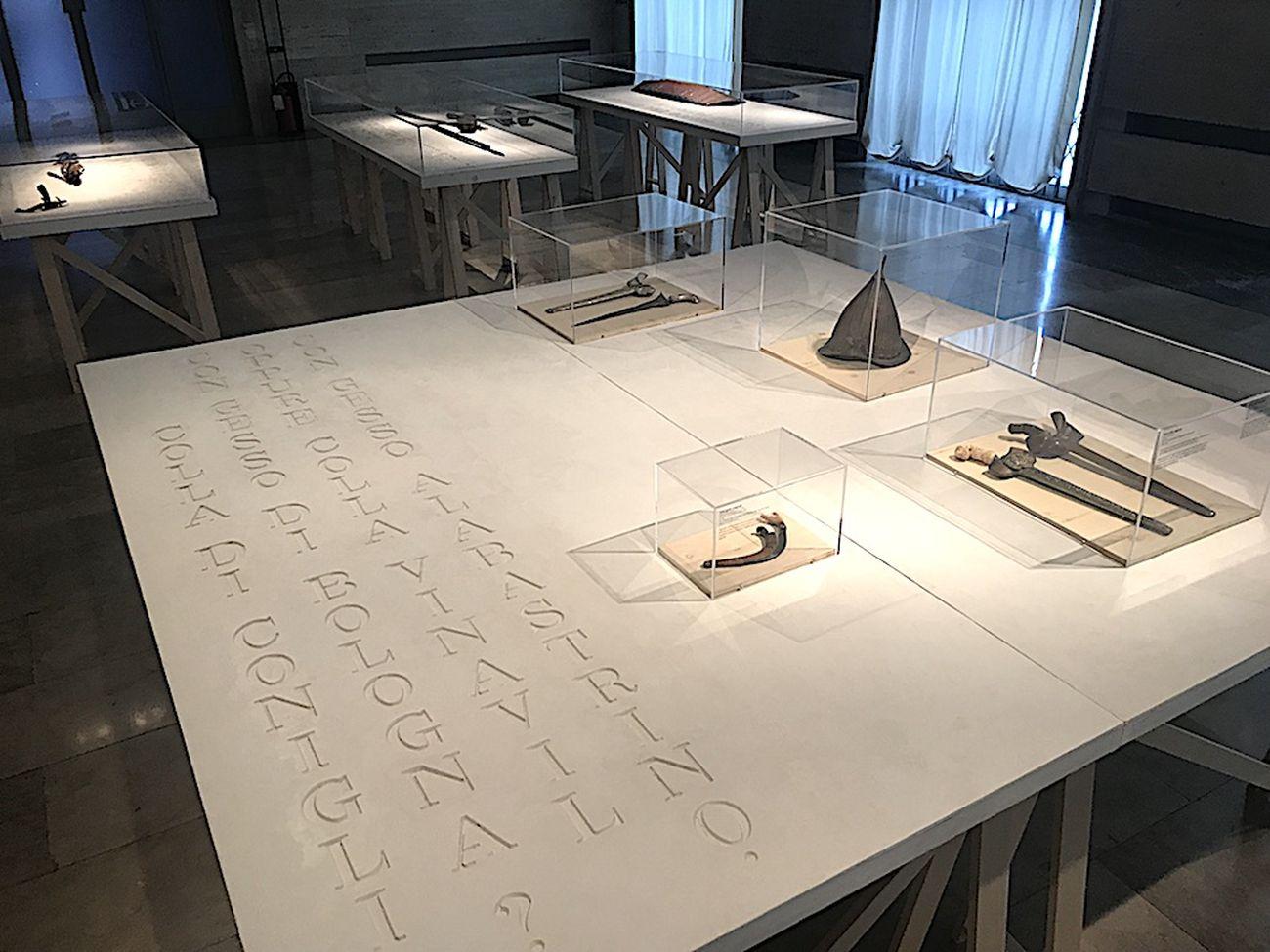 H.H. Lim. Origine del dettaglio. Exhibition view at Museo Preistorico Etnografico Luigi Pigorini, Roma 2018