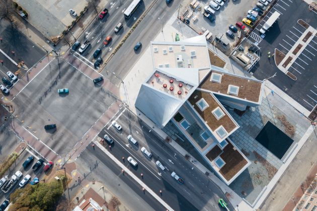 Institute for Contemporary Art - Richmond, vista aerea, credit: Iwan Baan.