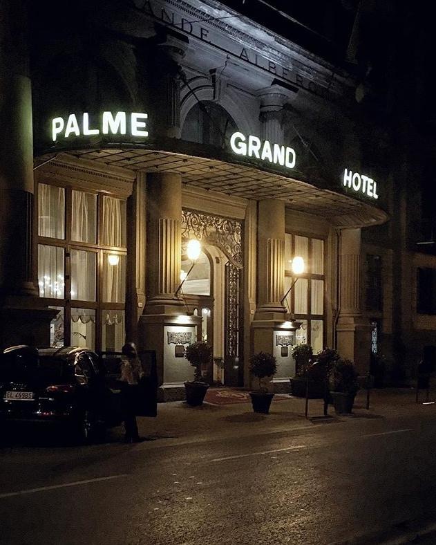 Grand Hotel et Des Palmes di Palermo. Immagine Instagram