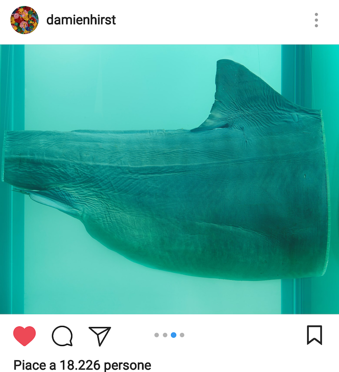 Un post su Instagram di Damien Hirst