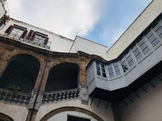 Palermo, Palazzo Speciale-Raffadali. Cortile interno