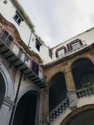 Palermo, Palazzo Speciale Raffadali. Cortile interno