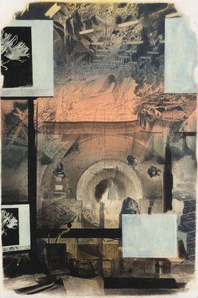 Ian Tweedy, MRI, 2018. Courtesy the artist & Monitor, Roma Lisbona