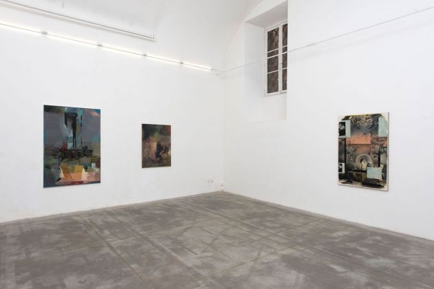 Ian Tweedy. My Wall. Installation view at Monitor, Roma 2018